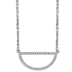 2.10 Carats small brilliant cut diamonds pendant n